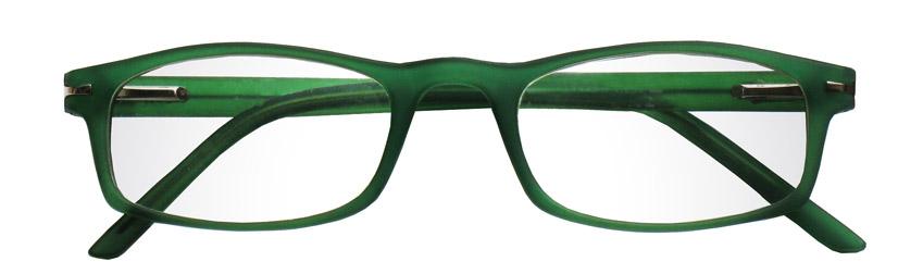 Foto degli occhiali da lettura premontati De Luxe mod.Velvet2 di colore verde di Espressoocchiali. Occhiali per presbiopia semplice in distribuzione nelle tabaccherie, cartolibrerie, aree di servizio, supermercati GDO
